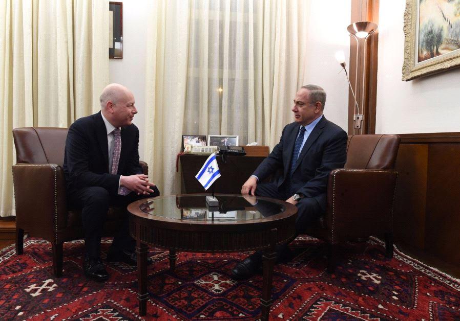 Netanyahu, Greenblatt