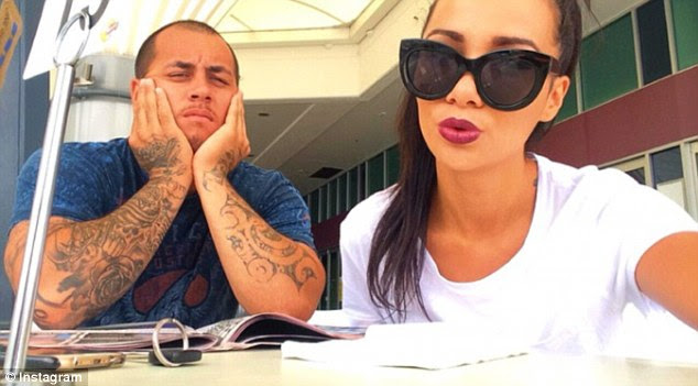Lionel John Patea (left) has pleaded guilty on Monday to the murder of his former partner