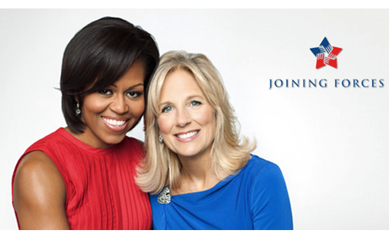 First Lady Michelle Obama and Dr. Jill Biden_ Joining Forces