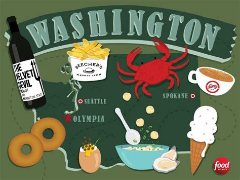 food  washington state  food  america