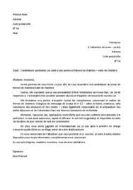 Cover Letter Example: Exemple De Lettre De Motivation ...