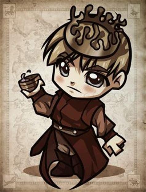 draw chibi joffrey  game  thrones step
