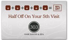CPS-1042 - salon coupon card