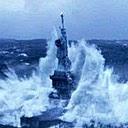 New York succumbs to tidal wave