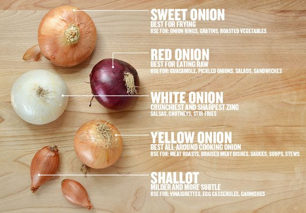 Yes, It Matters What Kind Of Onion You Use #cookingtips #food #recipes #kitchentips
