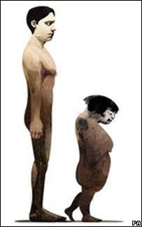 Las distintas subespecies humanas predichas por el Dr. Oliver Curry