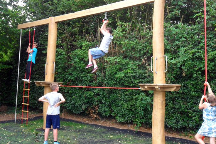 play equipment in Weedon Park. Great play value for older children