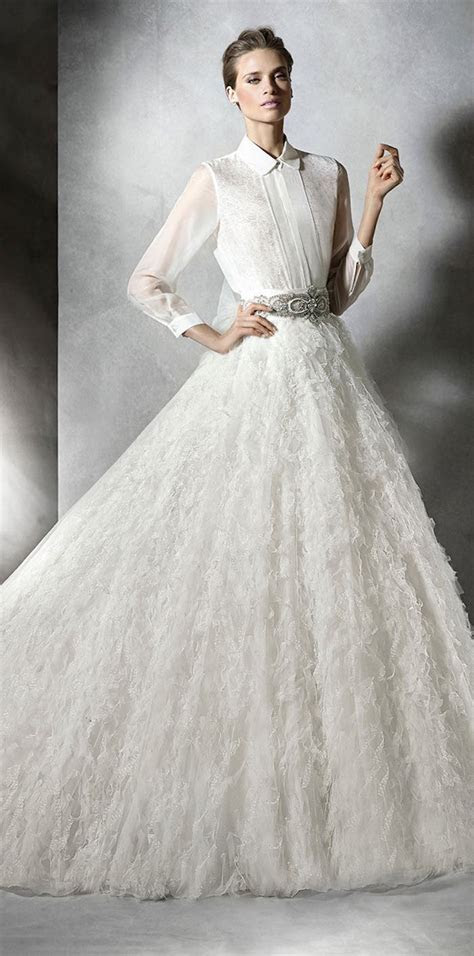 20  Beautiful Modest Wedding Dresses Designs ? WeNeedFun