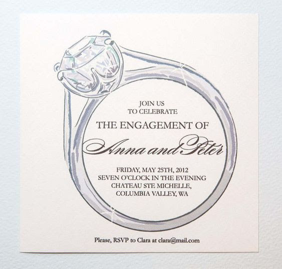 Engagement Invitation Templates Free Download | Betrothal ...