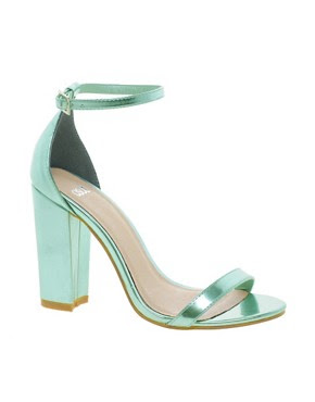 Image 1 of ASOS HOMETOWN Heeled Sandals