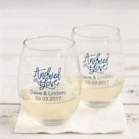 17 Best ideas about Wine Glass Favors on Pinterest