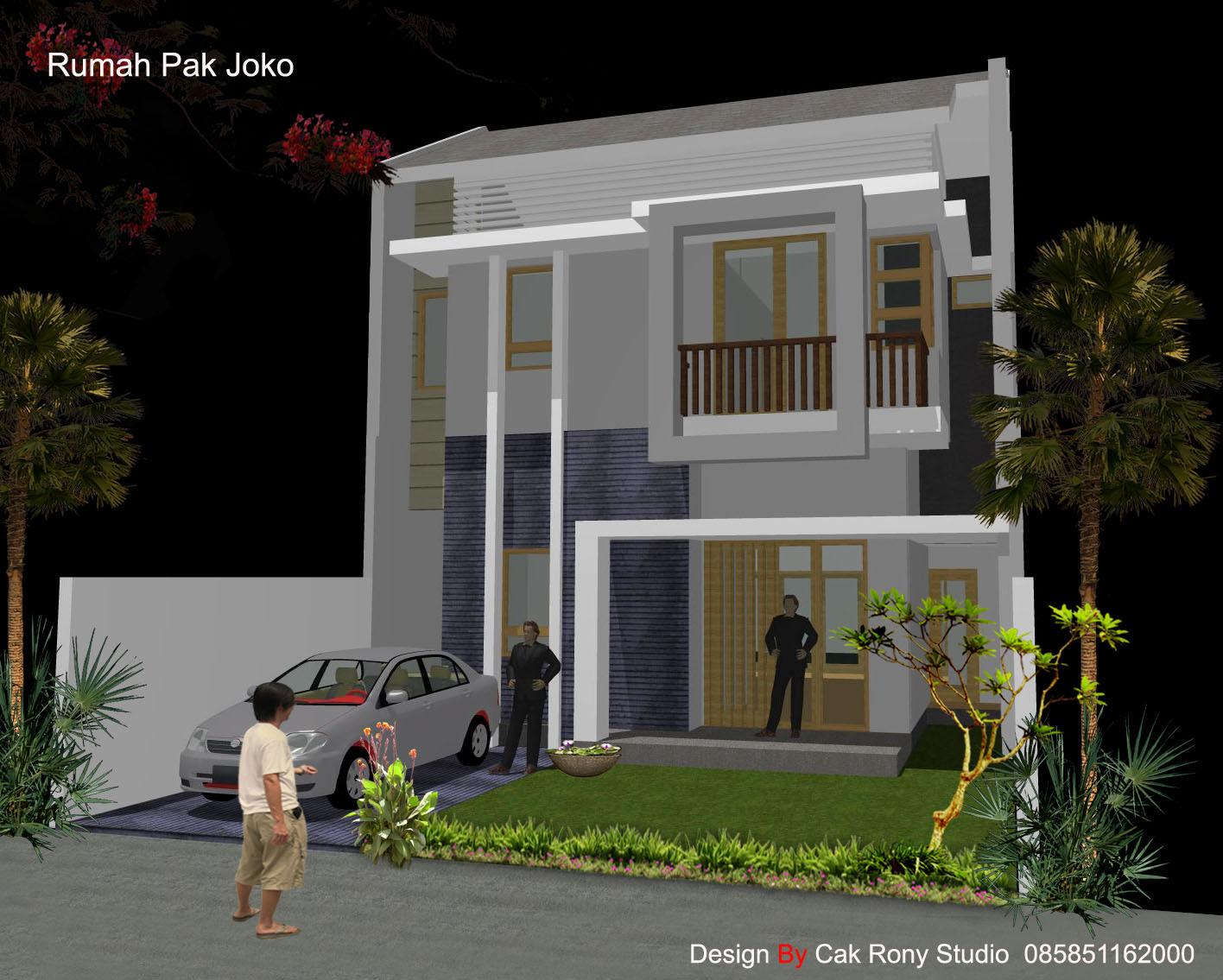 Desain Rumah Minimalis 8x12