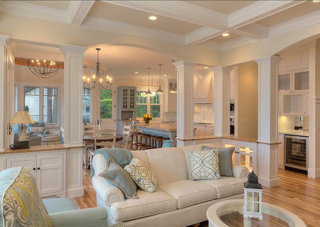 New Classic Coastal Home - Home Bunch - An Interior Design