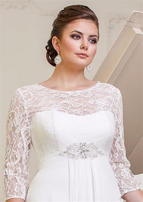 lace chiffon wedding dresses bridal gown custom