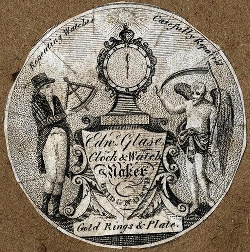 Edwd Glase Clock + Watch Maker Bridgnorth