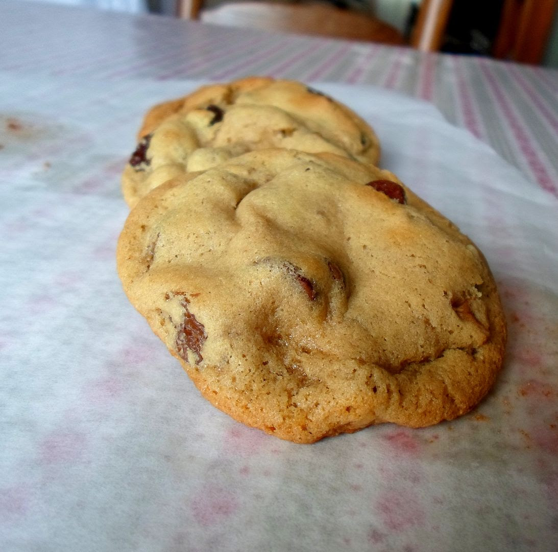 Four Perfect Chocolate Chip Cookies