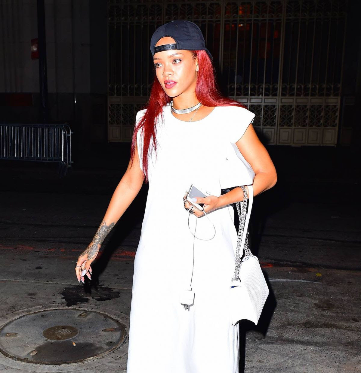 RIHANNA Night Out in New York 05/17/2015