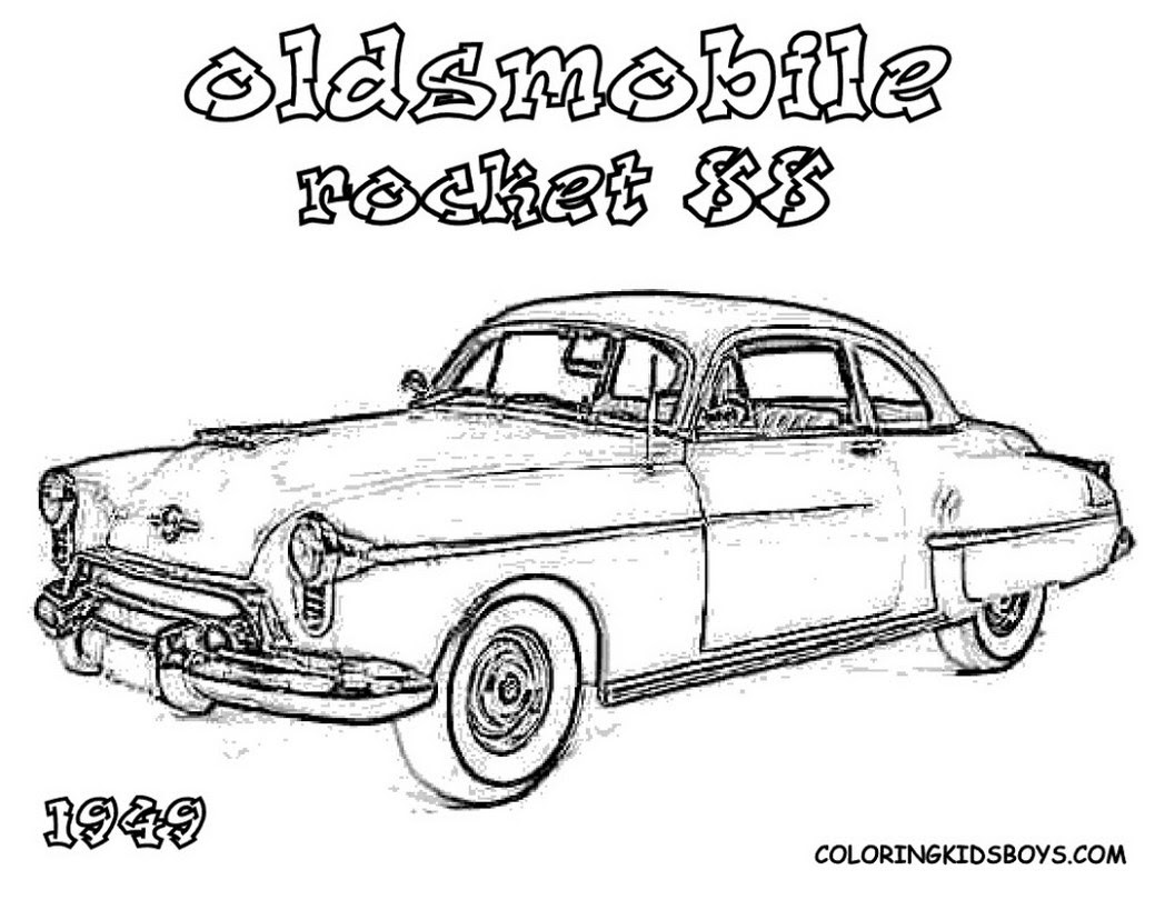 Hot Rod Coloring Pages To Download And Print For Free Coloring Pages