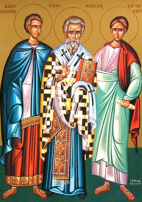 IMG ST. LEONIDAS, Martyr