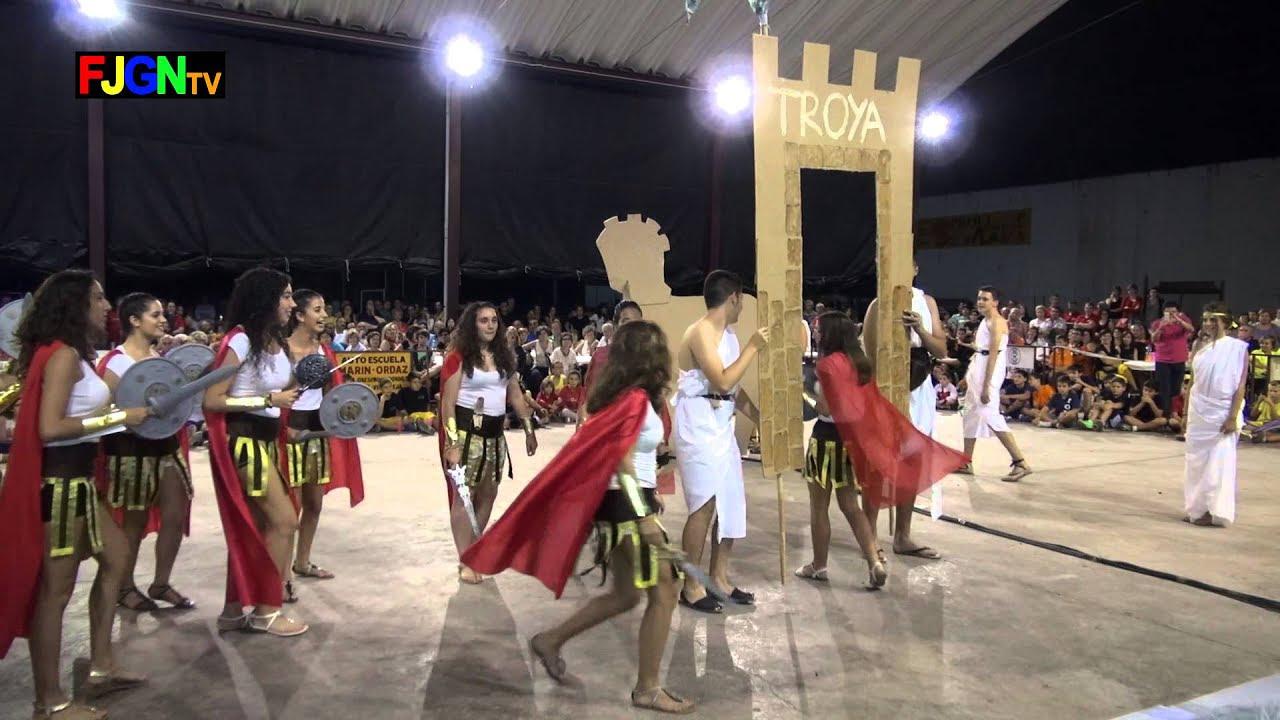 19. TROYA - Disfraces - Festa La Vila 2014 - La Vilavella