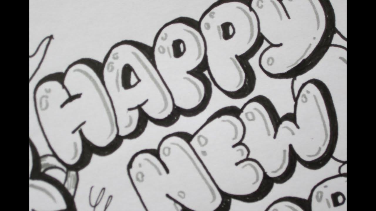 Gambar grafiti huruf abjad sampai graffiti art collection simple