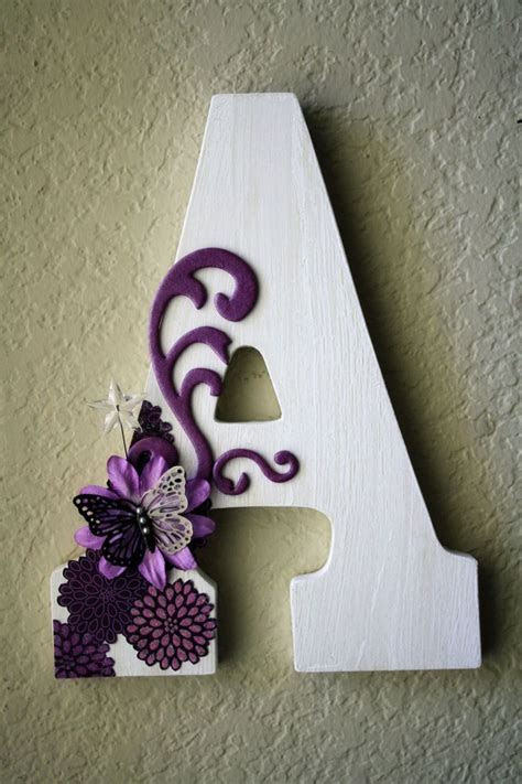 25  Best Ideas about Decorating Wooden Letters on