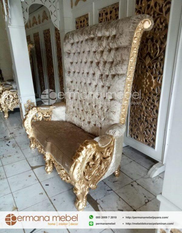sofa pelaminan ukir mewah 2