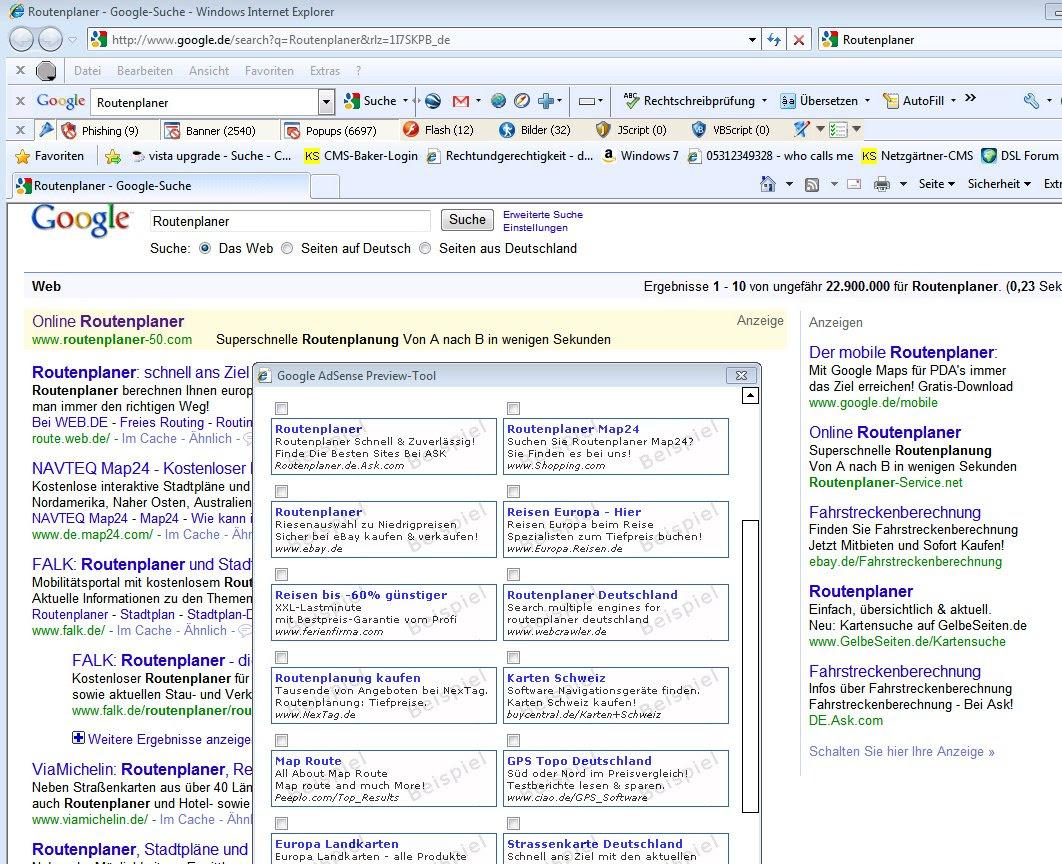Google-AdSense-Anzeige der typischen Werbung für diese Suche-01
