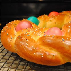 Braided Easter Egg Bread Recipe