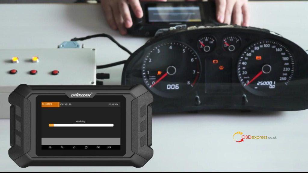 Obdstar Odo Mästare VW Passat vägmätare Correction 05