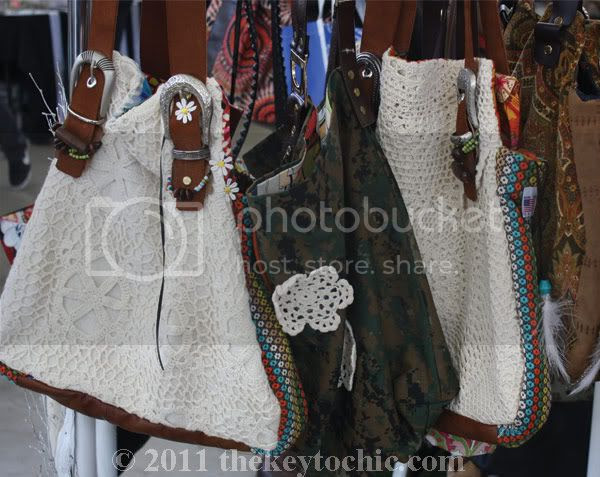 thread show hippie girl bags