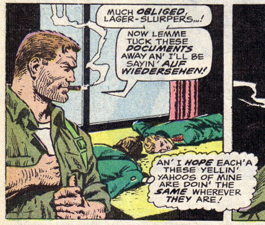 Sgt. Fury's Strange Racial Insults