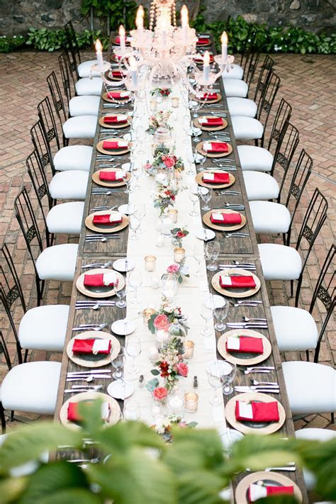 Wedding Reception Decoration : Long Tables   Belle The