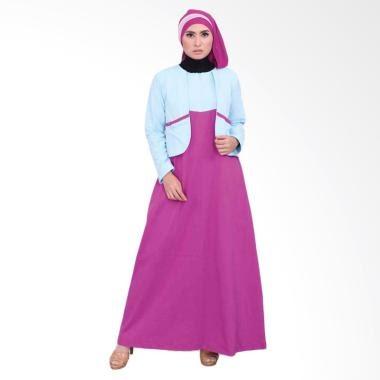 JUAL MURAH Vemmella Gemma 07 Baju Gamis Muslim Wanita - Biru Muda ~ Toko  ONline Terpercaya Aman Dan Terbaik Hanya Untuk Anda 75ec8ea75c