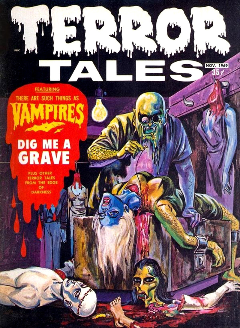 Terror Tales Vol. 01 #10 (Eerie Publications, 1969)