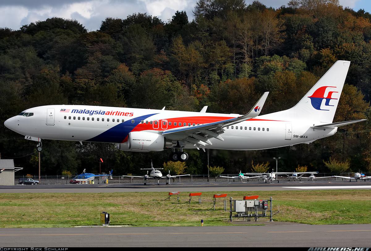 9M-MXA Boeing 737-800