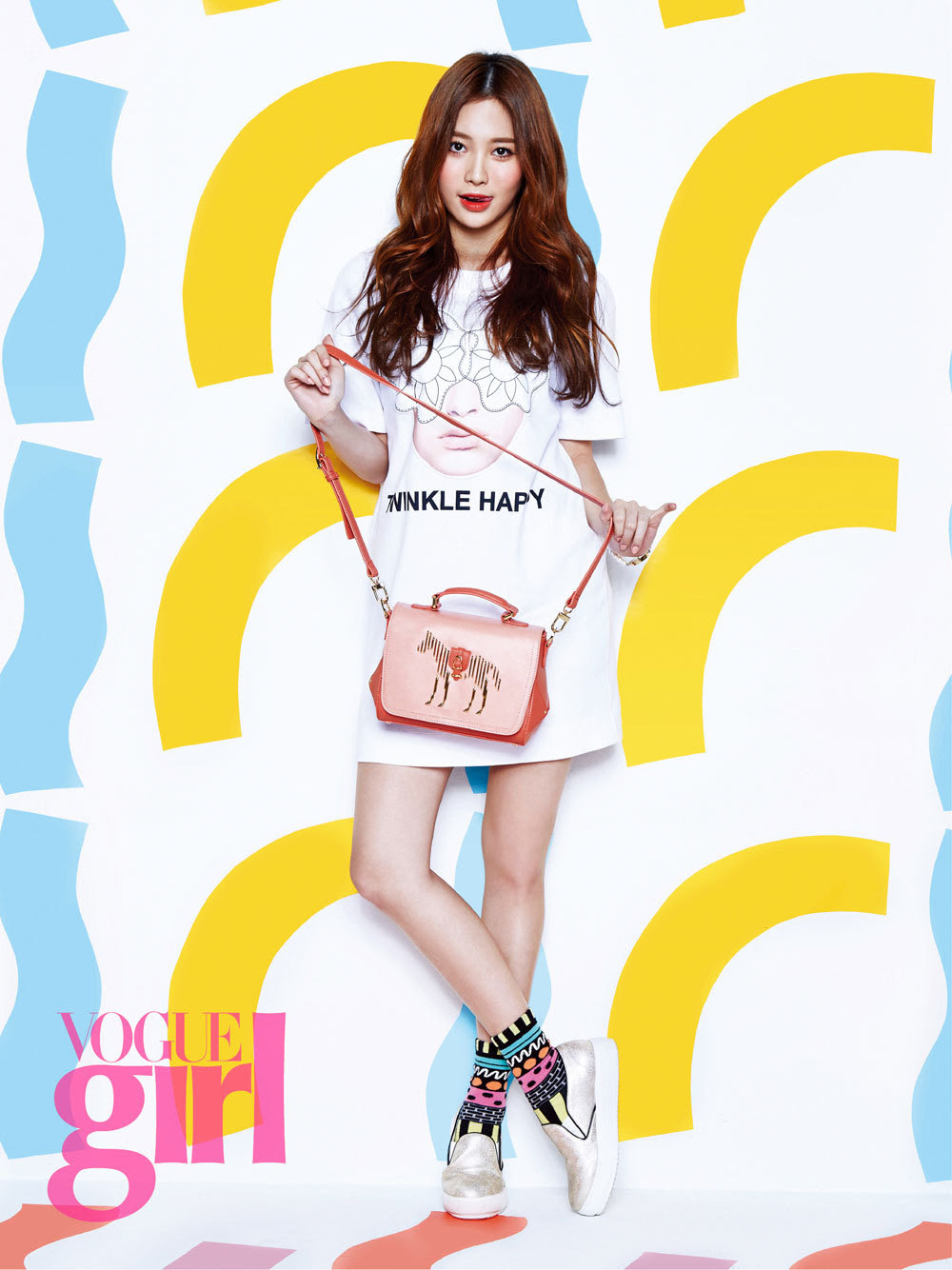 Girl's Day Yura and So Jin - Vogue Girl Magazine March Issue '15
