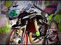 Motor Ninja Rr Biru Modifikasi