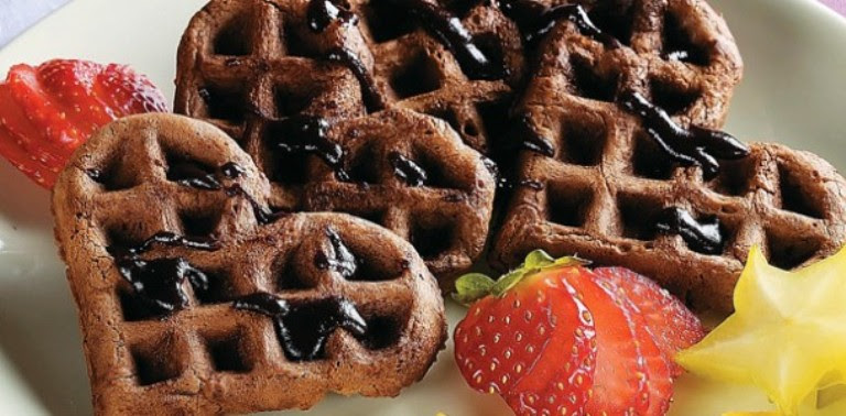 Receita Waffle clássico
