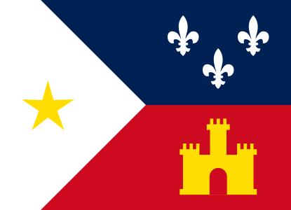 File:Flag of Acadiana.svg