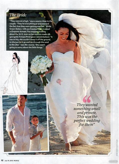 Megan fox wedding   Celebrity Wedding   Pinterest   The o