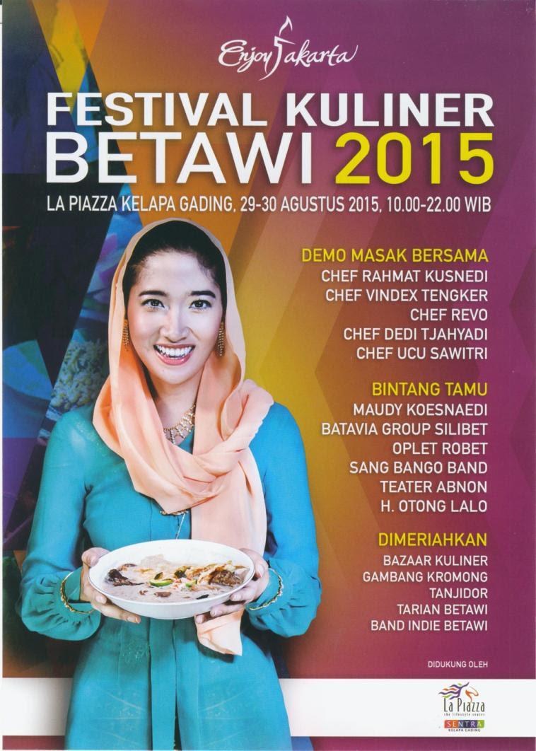 Nikmati Beragam Makanan Khas Betawi Dan Berbagai Hiburan Di Festival Kuliner Betawi 2015 Kabar One