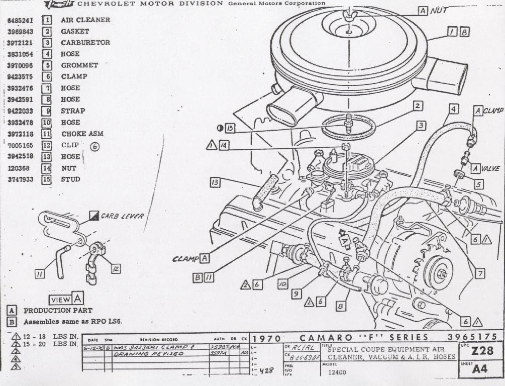 Chevrolet Engine Diagram 1984