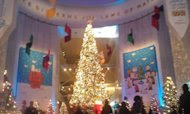 Christmas Around the World at the Museum of Science and Industry in Chicago. (Photo courtesy of Janoa Taylor.)