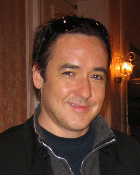 American actor John Cusack at a Dow Jones' D C...