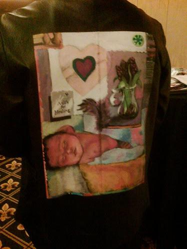 """'Sophia's Garden"""" Karen Herzog's jacket by Richard Sachs"""