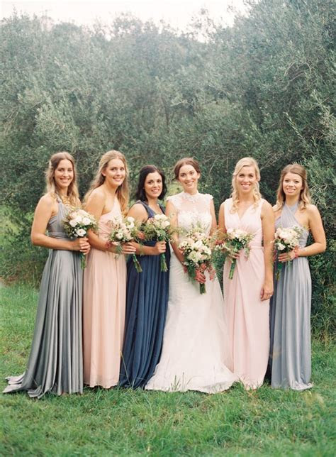 17 Best ideas about Mixed Bridesmaid Dresses on Pinterest