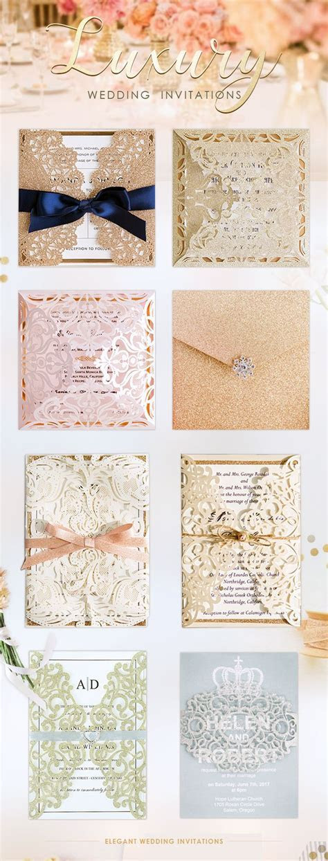 Best 25  Luxury wedding invitations ideas on Pinterest