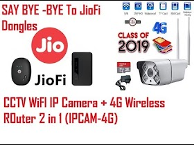 This Wireless IP Camera can replace your JioFi Dongle