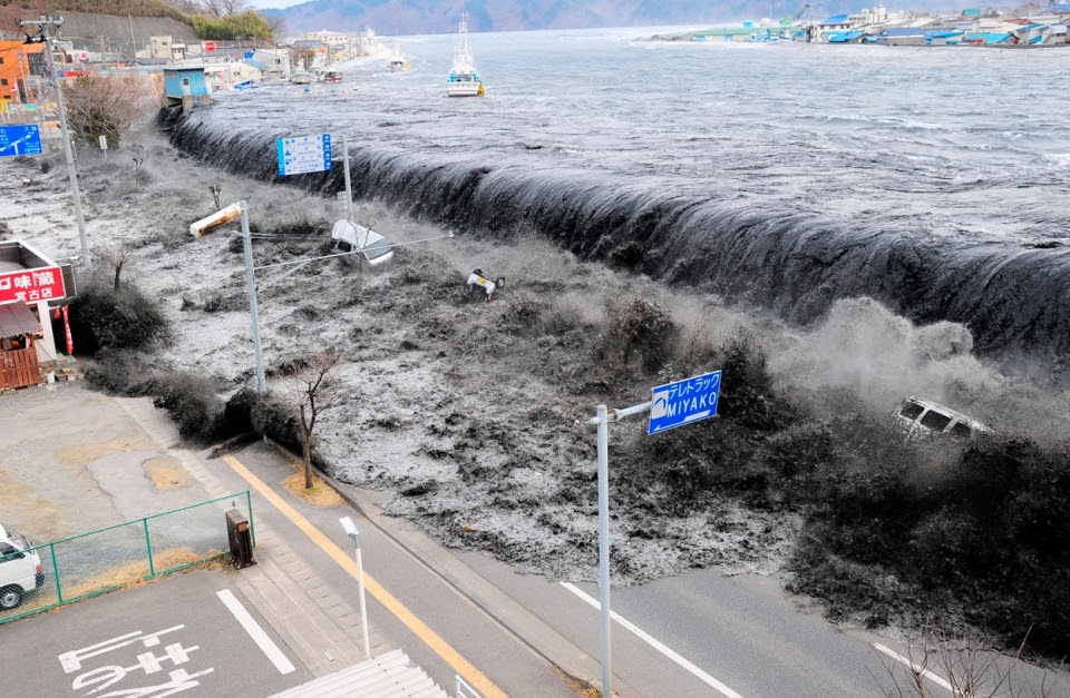 Tsunami japon. Foto: Eitb